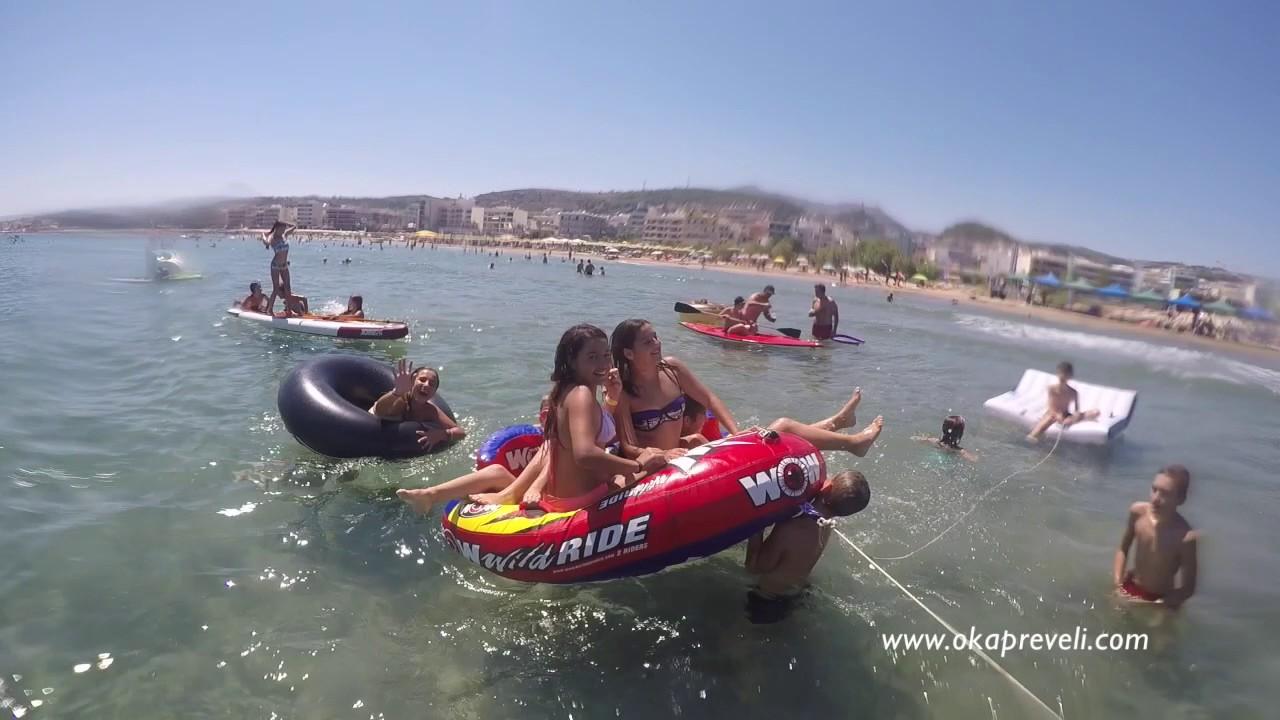 Oka beach - YouTube