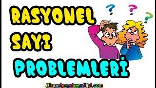 Rasyonel Sayı Problemleri Konu anlatımı ve çözümlü örnekler