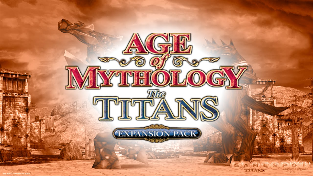o jogo age of mythology the titans completo