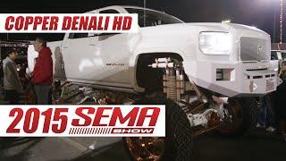 Video Copper Plated Custom GMC Denali HD Truck Build at 2015 SEMA Show download MP3, 3GP, MP4, WEBM, AVI, FLV April 2018