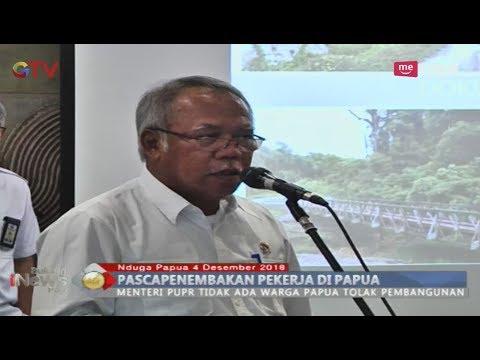 Menteri PUPR Angkat Bicara Soal Keamanan Pembangunan Jalan Trans Papua - BIP 05/12