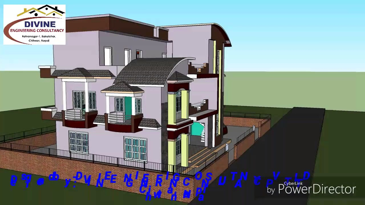 Nepali home design youtube for Home architecture you tube