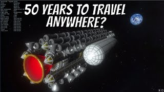To The Edge of the Universe In Under 50 Years?