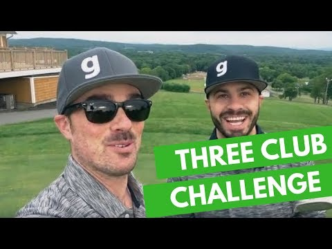 Frank & Mike Take the 3 Club Challenge | The Golf Podcast