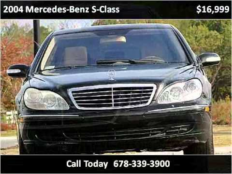 2004 mercedes benz s class available from atlanta auto
