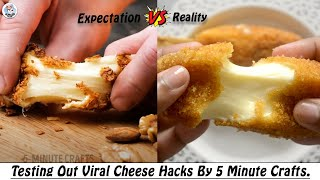 Testing Out Viral Food Hacks By 5 MINUTE CRAFTS  Testing Out 5 Minute Crafts Cheese Hacks  2  HP
