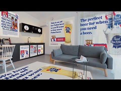 PABST-BLUE-RIBBON-IN-HOME-ADVERTISING