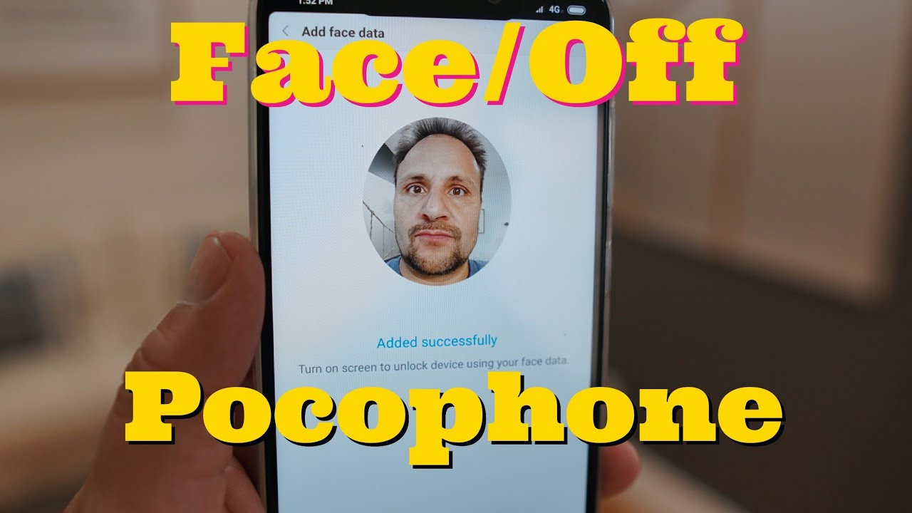 Pocophone F1 How to Enable Face Unlock In Any Country