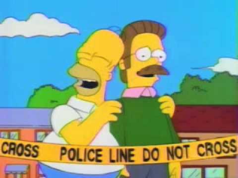 Homer Pranks Flanders