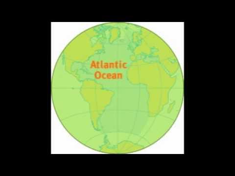 Oceans Of The World YouTube - Earth's four oceans