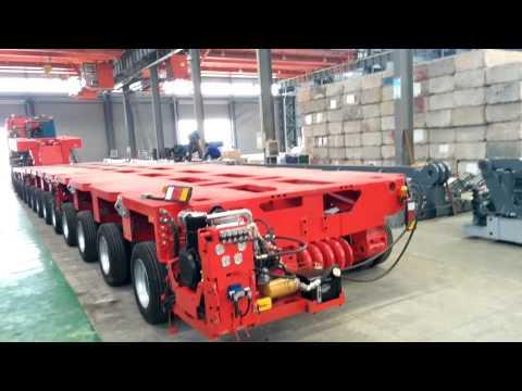 Goldhofer THP/SL--Modular Trailers--Nicolas MDED--Hydraulic Multi Axle--CHINA HEAVY TRANSPORTER
