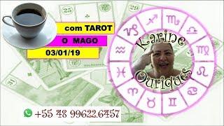 Café com Tarot 03/01 com Karine Ouriques