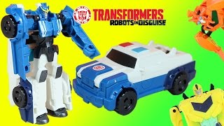 Transformers Robots in Disguise Strongarm One-Step & Sneak Attack from Decepticons!!