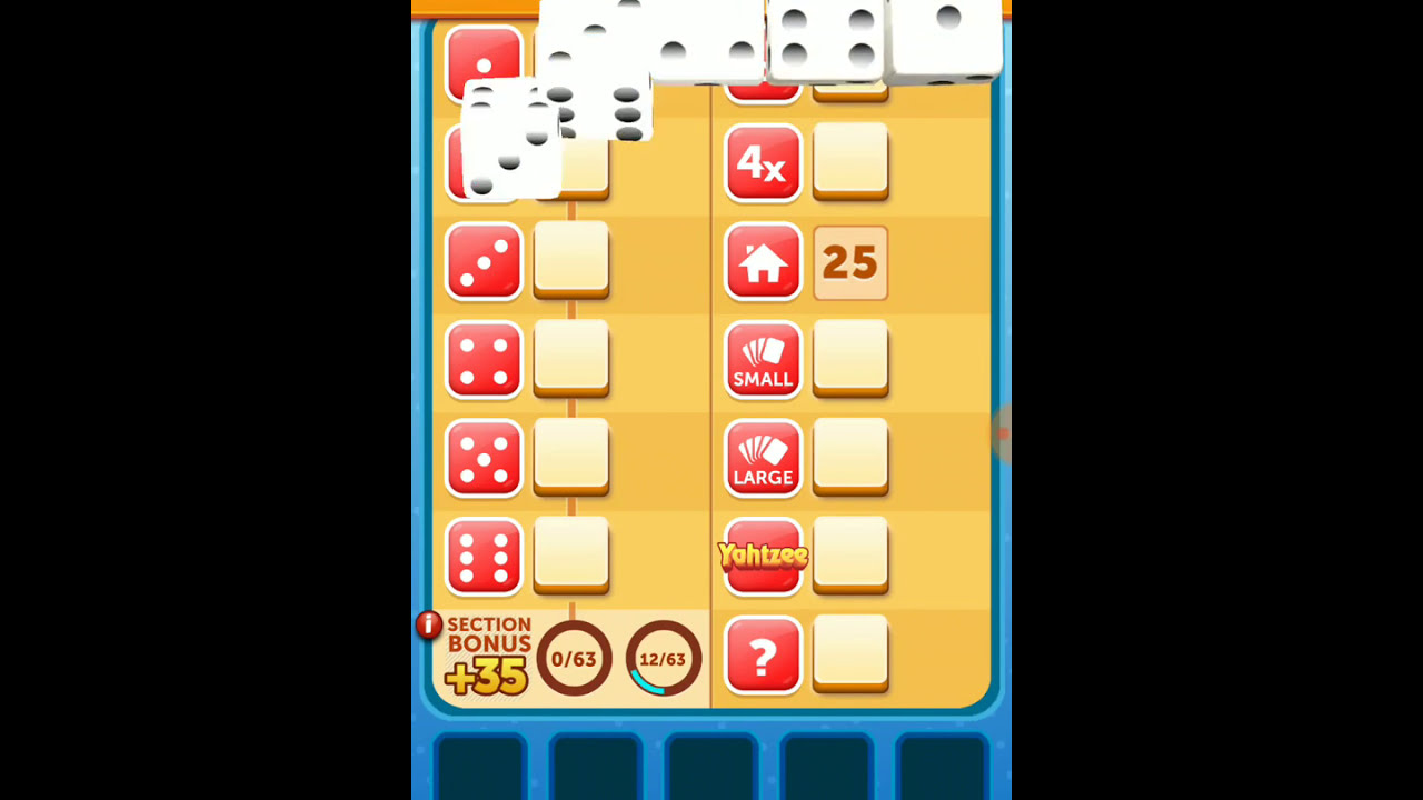 Yahtzee online multiplayer game