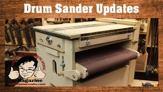 GET PLANS FOR THE DRUM SANDER▻ http://www.stumpynubs.com/two-stage-drum-sander.html SUBSCRIBE (FREE) TO