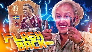 FLASHBACK MILAN IBRAHIMOVIC EXPERIMENT! AC MILAN TRANSFER SQUAD! FIFA 19 ULTIMATE TEAM