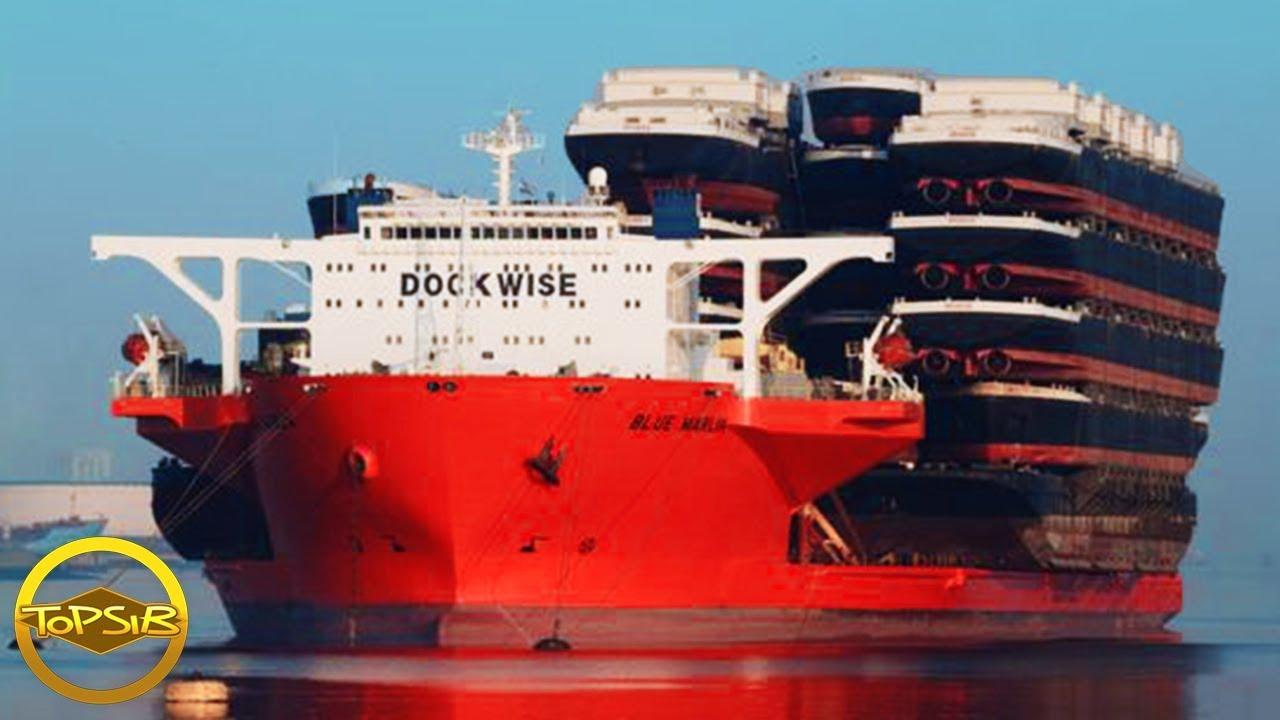 10 อันดับ มหัศจรรย์เรือขนาดใหญ่ที่คุณไม่เคยเห็นมาก่อน (สร้างได้ใหญ่มาก!!)