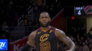 LeBron James With a Dagger from 3 to seal the game | Cavaliers vs Kings | Dec 6, 2017