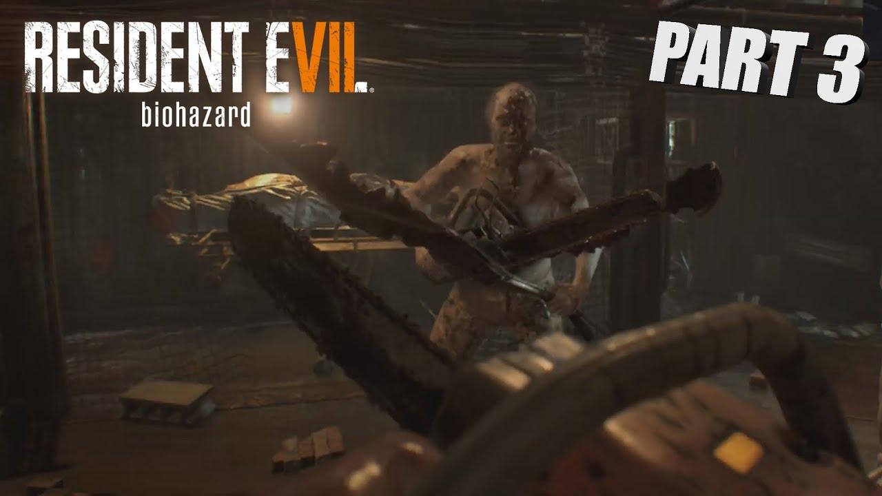 CHAINSAW BATTLE! | Resident Evil 7 PART 3