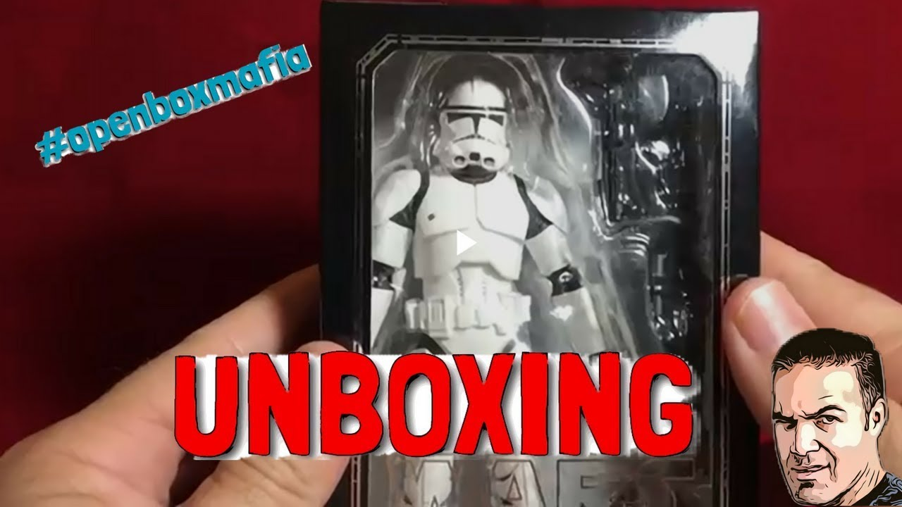 s h figuarts phase 2 clone trooper unboxing youtube