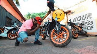 Someone Destroyed My Bike Ktm Duke 200 | Disappointed ☹️