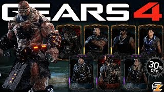Gears of War 4 - Black Steel Black Friday Sales Esports Characters Day 3! (Esports DLC)