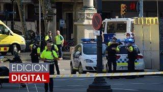 Dos personas fueron detenidas tras ataque terrorista que dejó 13 muertos en Barcelona