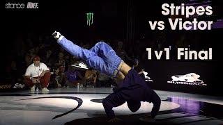 Stripes vs Victor - Finał BBoys 1vs1 na Silverback Open 2018