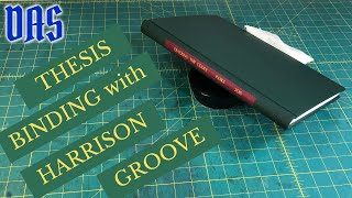 Thesis Binding with Supp๐rted French Groove // Adventures in Bookbinding