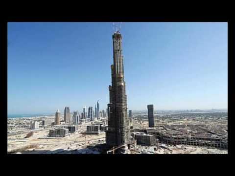 Строительство Бурдж Халифа