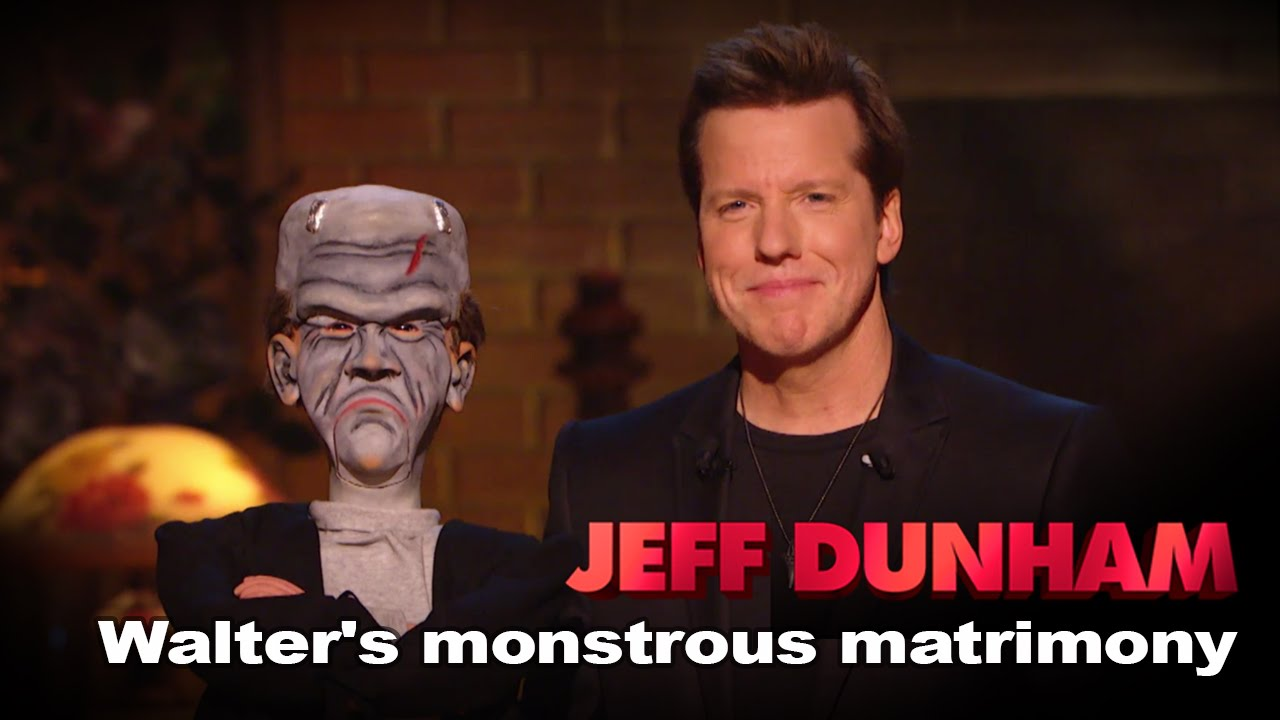 """Download """"Walter's Monstrous Matrimony""""   Minding the Monsters    JEFF DUNHAM"""