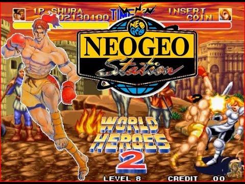 World Heroes 2 Lev 8 Shura Nai Khanomtom(Nai Khanom Tom) No Lose Playthrough