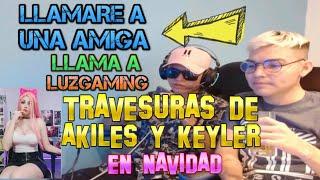 Download LAS TRAVESURAD DE AKILES Y KEYLER // ¿LLAMAN A LUZ GAMING?