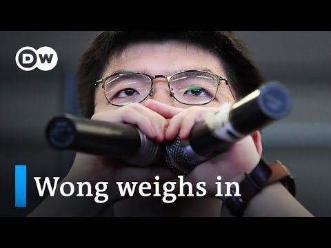 Hong Kong protest: Joshua Wong weighs in on Carrie Lam   DW News