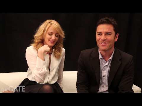 Helene Joy and Yannick Bisson on 'Murdoch Mysteries' season 6