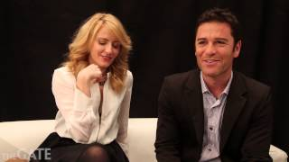 Helene Joy and Yannick Bisson on 'Murdoch Mysteries' season 6