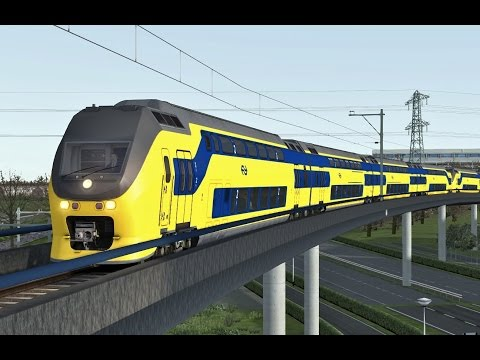 Train Simulator: Enkhuizen - Amsterdam Centraal with NS VIRM