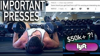 The Floor Press Can Save You Ab Vacuum Genetic or Starvation Crazy LYFT Tale