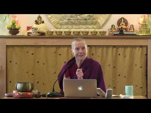 """10A """"Illumination of the Thought"""" Review Session with Ven Sangye Khadro 10-28-20"""