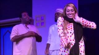 مسرحية أيام الطيبين ضمن كرنفال خورفكان المسرحي 2016