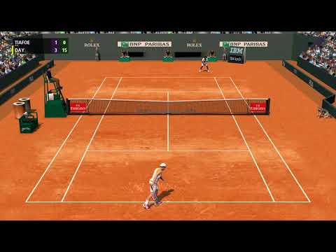 Full Ace Tennis Simulator - ATP 250 Munich - Quarter Final vs Frances Tiafoe - Career #62