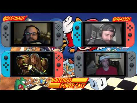 SNES Mini, Arms, Splatoon 2 and Metroid Prime 4 Nintendo Switch News The Nintendo Power Ep.26
