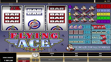 FLYING ACE +WINNING COMBINATIONS! online free slot SLOTSCOCKTAIL microgaming