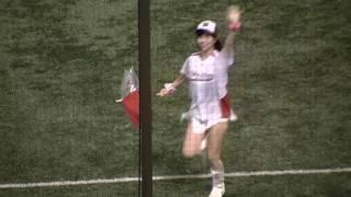 2009年9月10日、神宮球場での東京ヤクルトスワローズvs広島東洋カープ戦...