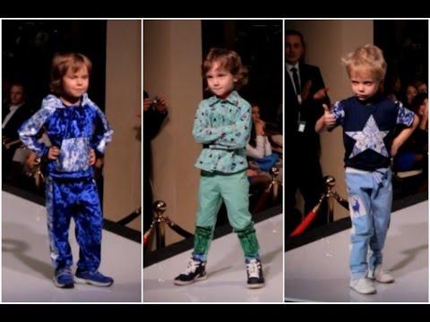 Детский показ мод 2015 в Москве PrideProduction ♥ Одежда для мальчиков на неделе моды