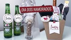 JUNTOS E SHALLOW NOW - Como montar kits e cestas para DIA DOS NAMORADOS {kit digital grátis} #Laína
