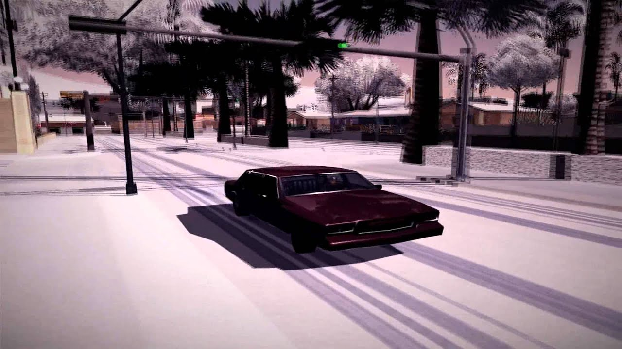 Gta San Andreas Wallpaper Hd Gta Sa Enb Winter Version Textures Effects