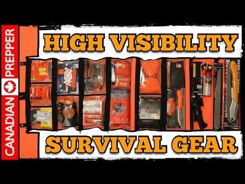 Premium High Visibility Emergency Survival Kit
