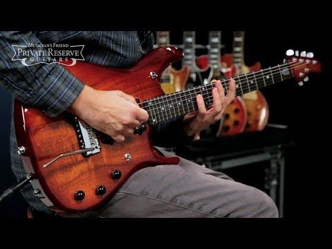 Ernie Ball Music Man John Petrucci BFR 6 w/ Koa Top & Piezo Electric Guitar