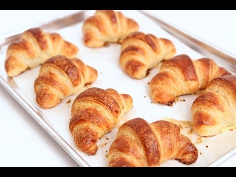 How to Make Croissants Recipe - Laura Vitale - Laura in the